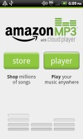 Amazon MP3 with Cloud Player Choice of Store or Cloud Player