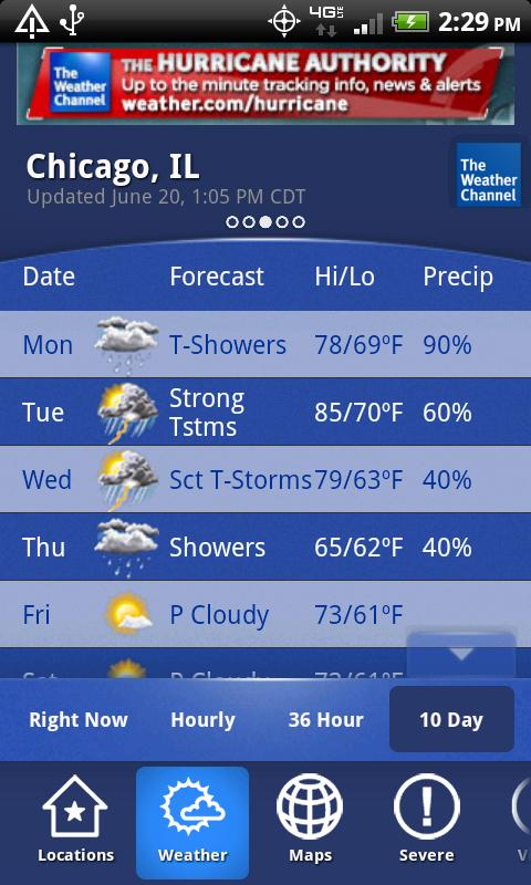 the weather channel continues to be the king of weather apps