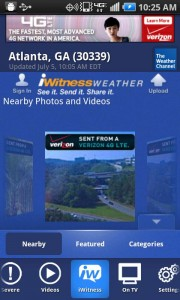 The Weather Channel iWitness Weather