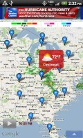 The Weather Channel on Maps