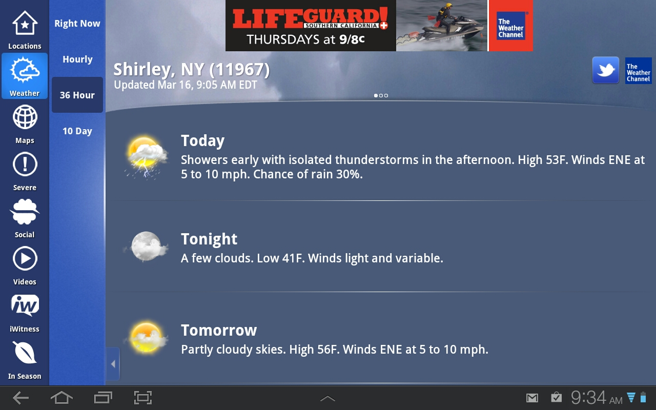 Weather Channel Forecast : Weather channel updated forecast androidtapp