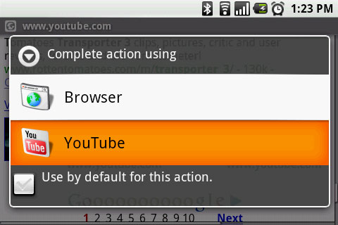 How to Save YouTube Videos on your G1