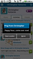 Loopt Ping Feature