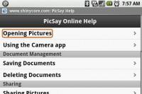 PicSay Online Help