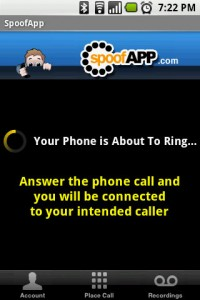 SpoofApp Your Phone is About to Ring
