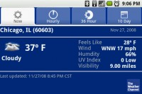 The Weather Channel Hourly
