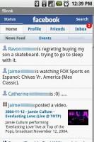 fBook Home - News Feed