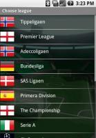 Fotmob Choose League
