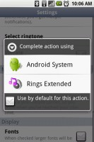 Rings Extended Choice from Other Apps