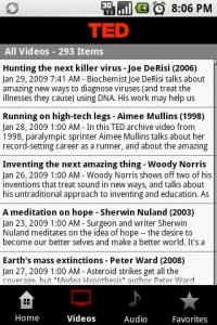 TED (Technology, Entertainment, Design) Talks Videos