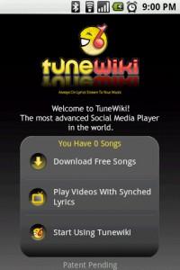 TuneWiki Home
