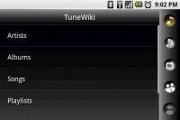 TuneWiki Choose Music