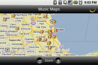 TuneWiki Music Maps