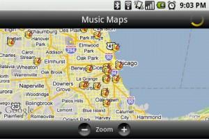 TuneWiki Music Maps
