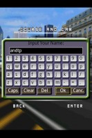 Snow Rally City Stage QWERTY Virtual Soft Keyboard