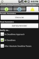 Astrid Edit Tasks Reminders