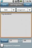 CoursePro Edit Assignment