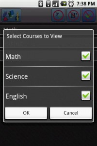 CoursePro Select Courses to View