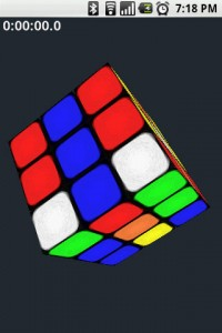 Gube The Rubik's Cube in Game Play 1