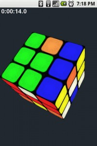 Gube The Rubik's Cube in Game Play 2