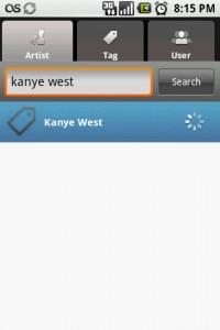 Last.fm Search Results