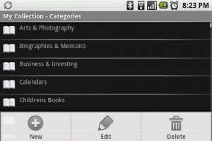 My Collection Categories
