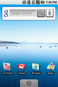 RC33 Google Voice Search for Android for Home Screen