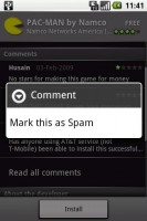 RC33 Update to Mark Comment as Spam