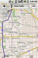 TeleNav GPS Navigator Map Summary