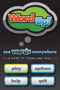 WordUp! Start Screen