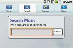 Dizzler Music On Demand Search Music