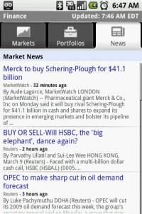 Finance Market News