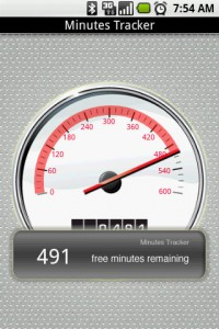 Minutes Tracker Notification