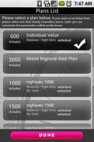 Minutes Tracker Plans List