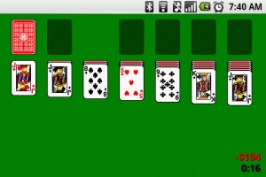 Solitaire Start Game