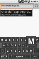 Steel Android Web Browser Virtual Keyboard
