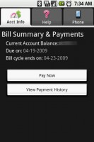 T-Mobile My Account Bill Summary and Payments