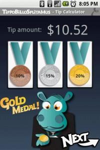 TippoBilloSplitamus Gold Medal Tip