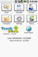 Exchange by TouchDown Start Screen