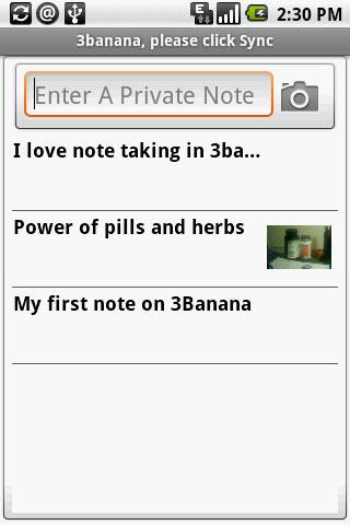 3banana Notes