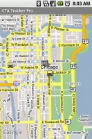 CTA Tracker Buses on the Map