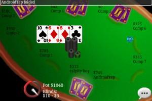 Texas Hold'em Online Auto Rotate Landscape