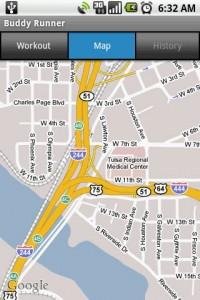 Buddy Runner Map