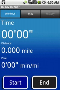 Buddy Runner Workout Timer