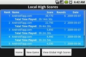 AlphaMixr Local High Scores