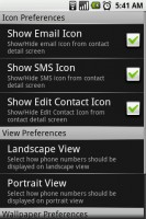 Contacts Blast Icon Preferences