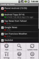 FeedR News Reader Options 2