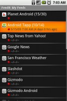 FeedR News Reader My Feeds