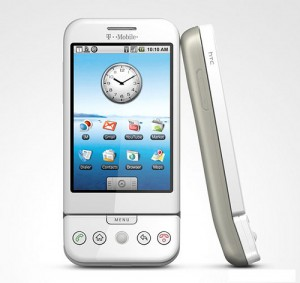 T-Mobile G1 in White