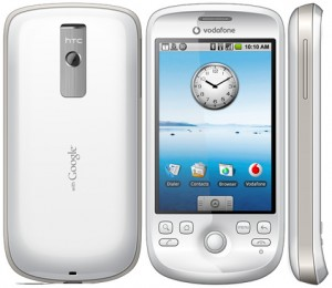 HTC Magic Front, Back, and Side View